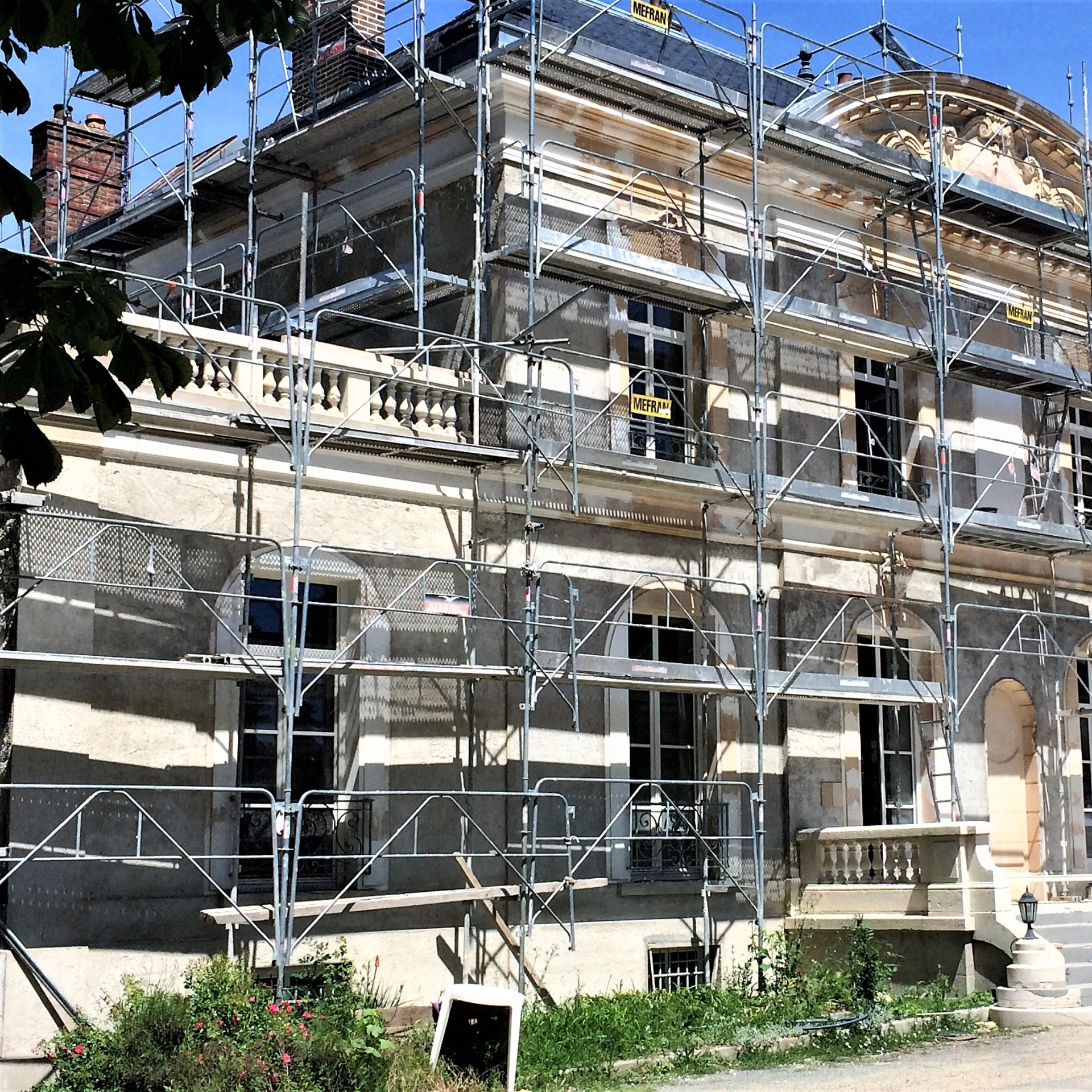 TRAVAUX RENOVATION CHATEAU
