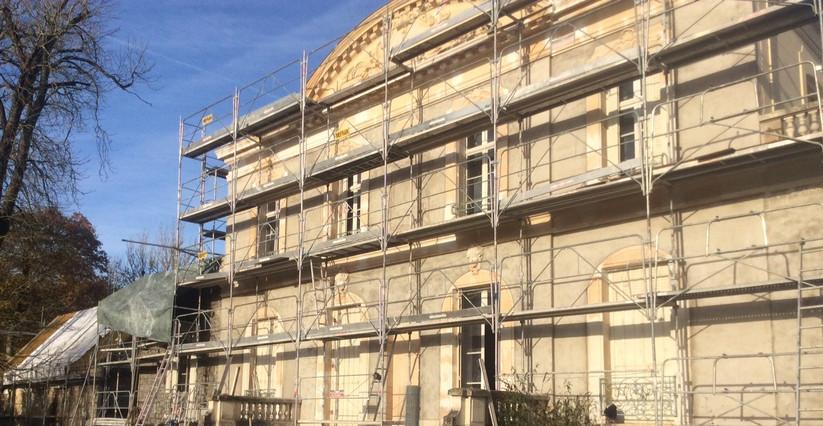Rénovation Façade Principale Chateau