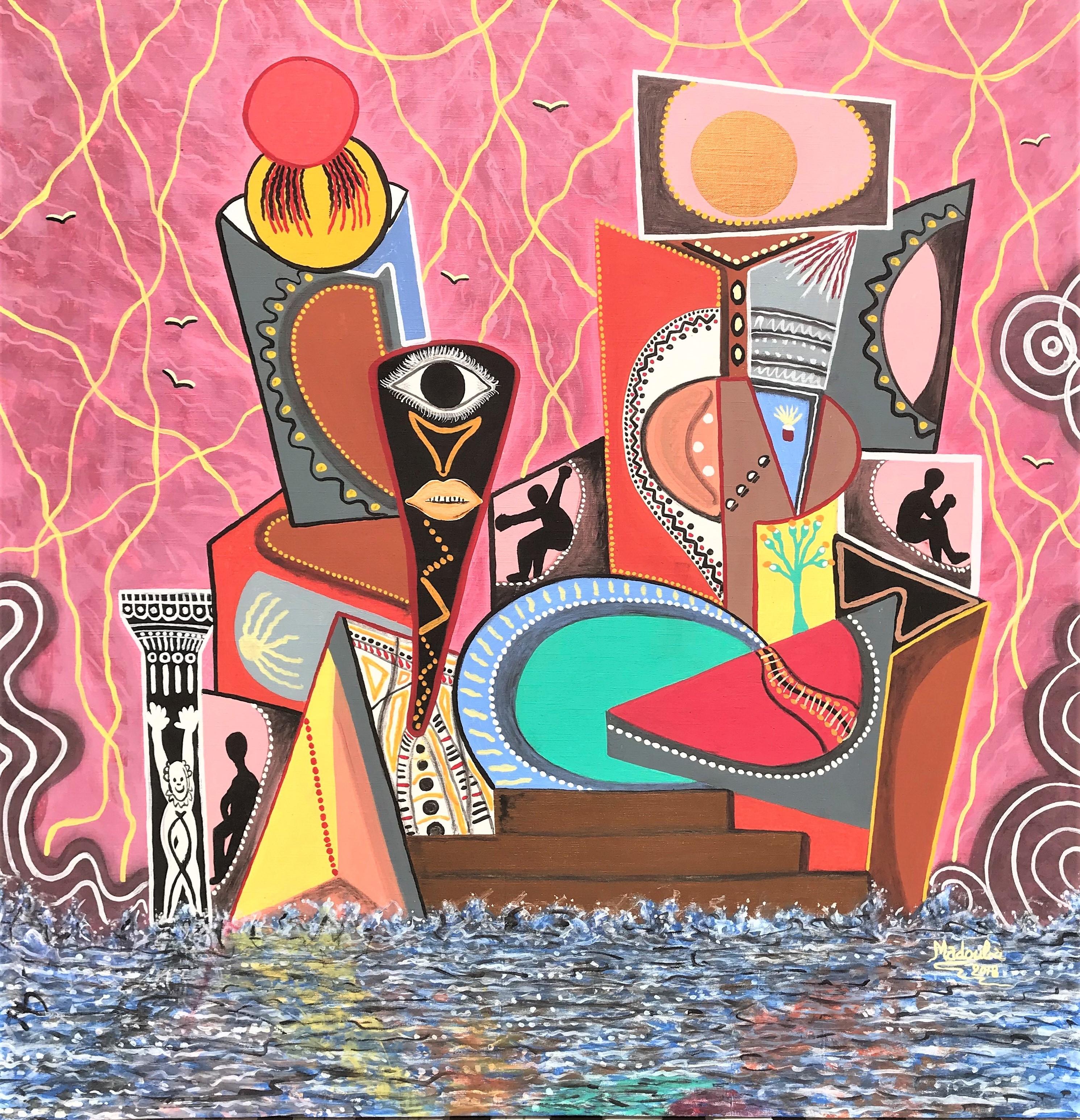 MADUBA- La Maison Universelle- acrylique