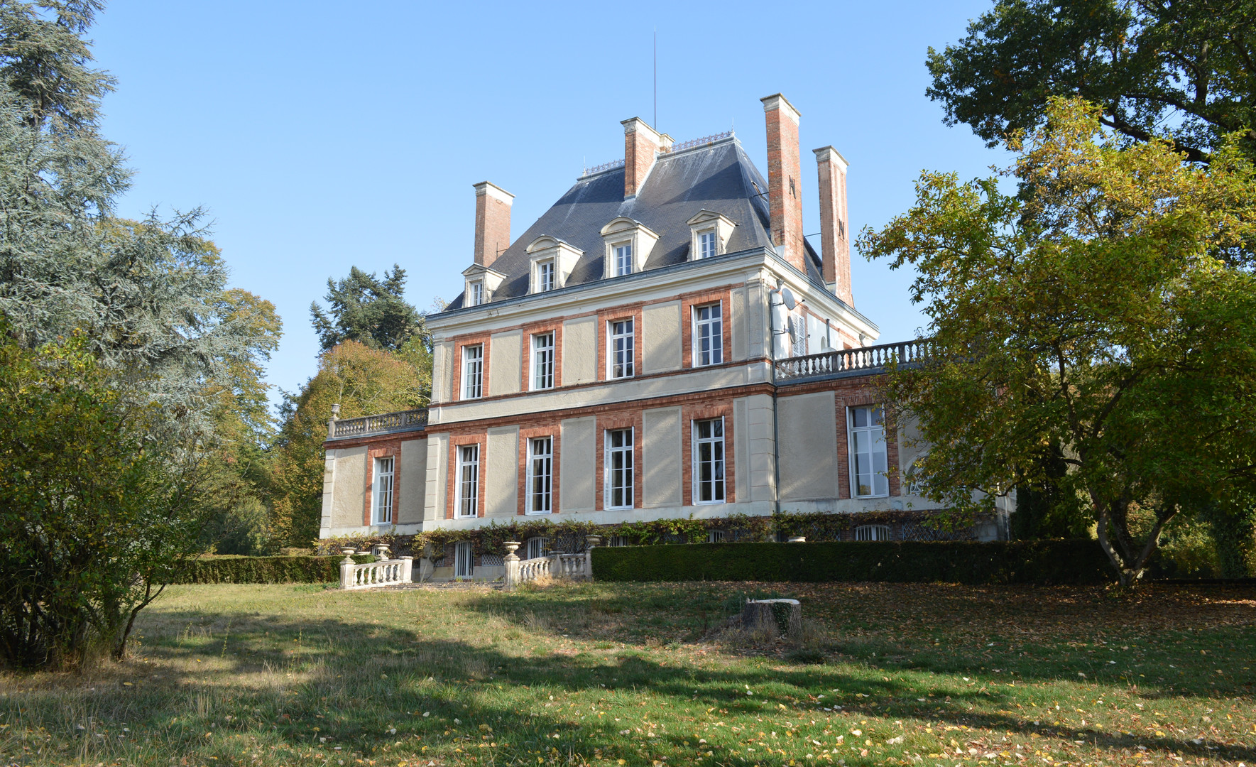 Chateau avant rénovation