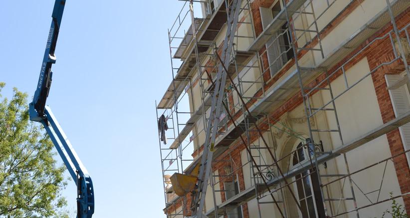 Rénovation des toitures et lucarnes