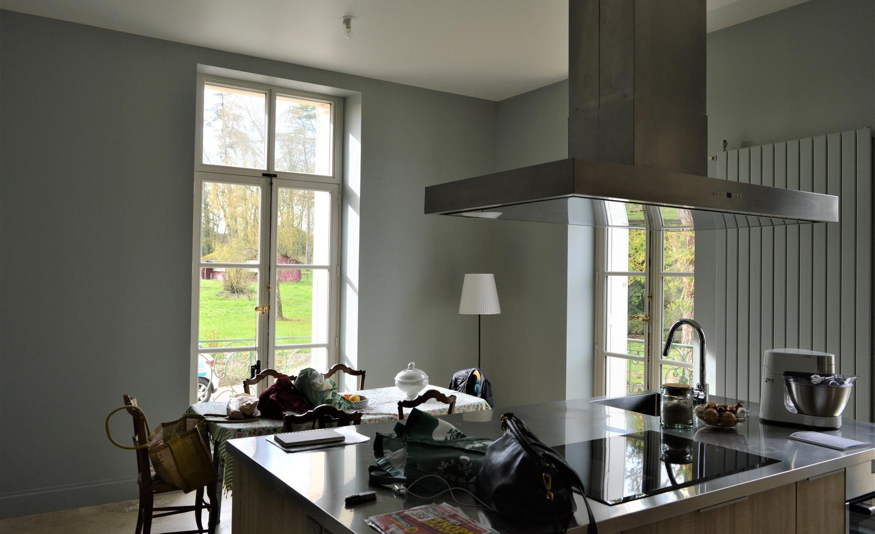 Création d'une cuisine pour réception
