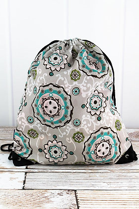Garden View Drawstring Backpack