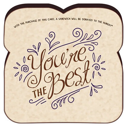 """You're The Best"" Card By Food For Thoughts"