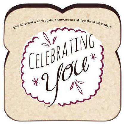 Food For Thoughts Celebrating You Card
