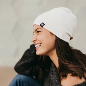 Pretty Simple Rolled Edge Cashmere Beanie