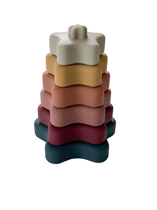 Chewable Charm Star Teether Stacker