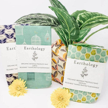 Earthology Beeswax Produce Bag