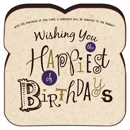"""""""Wishing You The Happiest of Birthdays"""" Card By Food For Thoughts"""