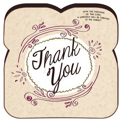 Food For Thoughts Thank You Card