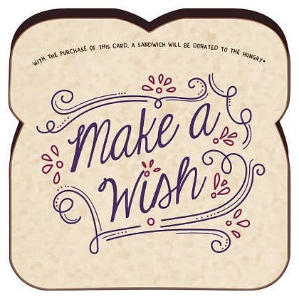 Food For Thoughts Make A Wish Card