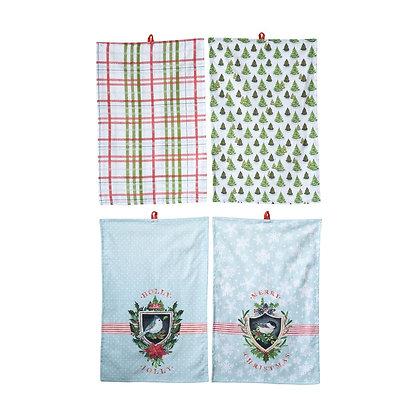 Cotton Tea Towel 4 Styles