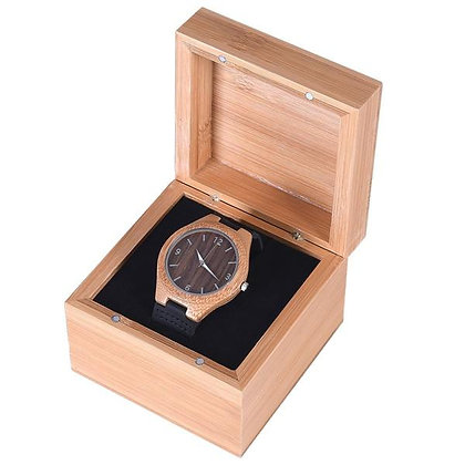 Mad Man Bamboo Watch