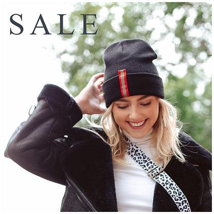 PS Varsity Striped Knit Hat