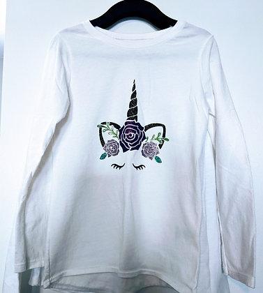 Sparkle Unicorn Long Sleeve Top