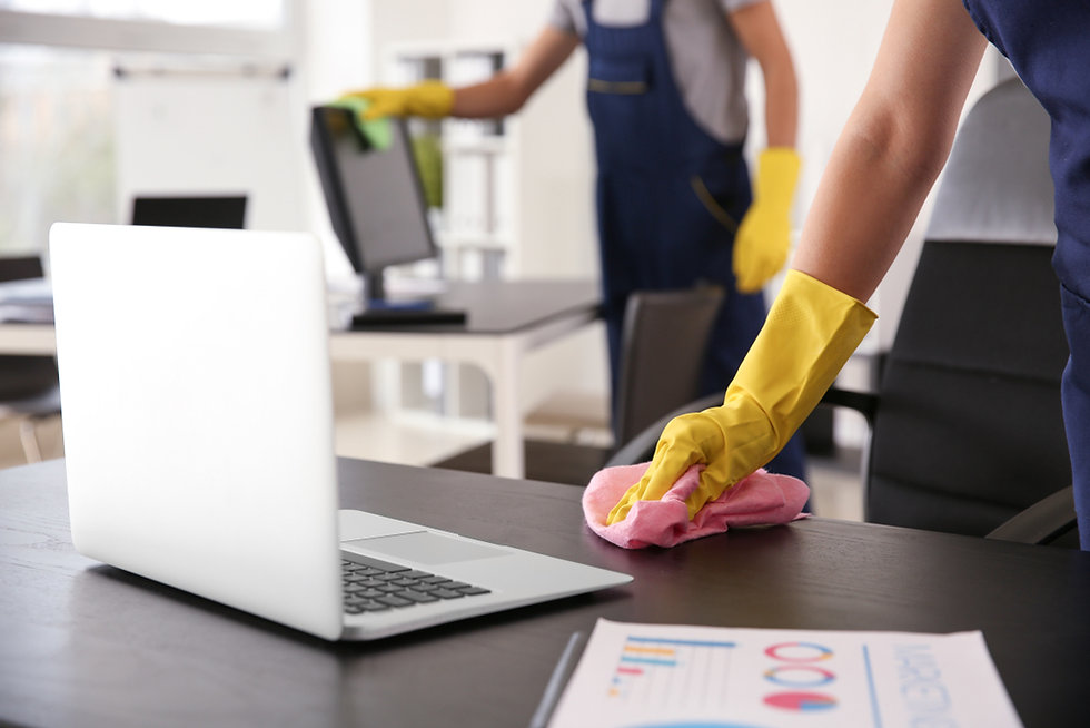 Office & commercial cleaning services