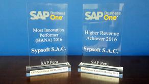 SAP premia a SYPSOFT360 por décimo año consecutivo por su liderazgo en ventas