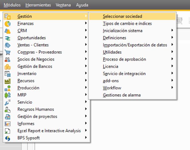 Cambiar de usuario en SAP