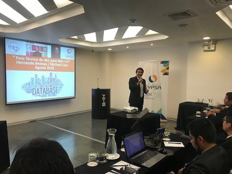 Foro Técnico DB2 For i Technical Forum 2018