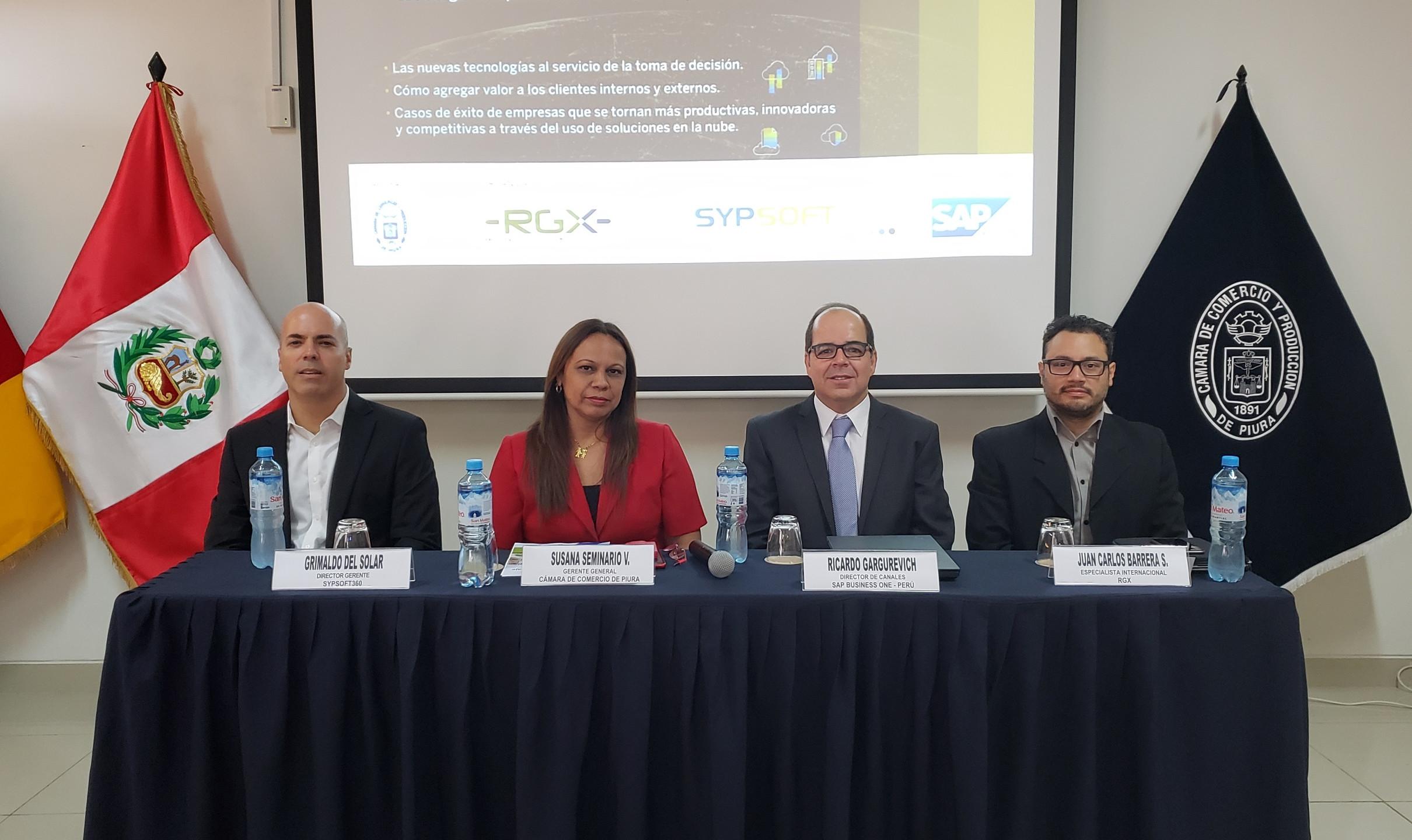 Evento Cámara Comercio de Piura - SAP y Sypsoft360