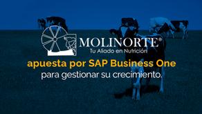 Molinorte apuesta por SAP Business One para gestionar su crecimiento