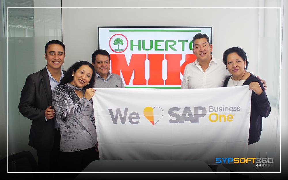 Huerto Mik se tranforma con SAP B1 y Sypsoft360