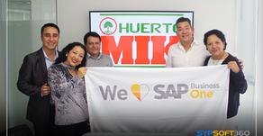 """Huerto MIK: """"SAP B1 nos ayuda a hacer seguimiento de las operaciones de principio a fin..."""""""