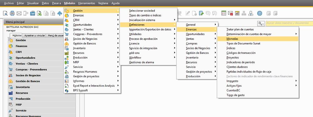 Cambiar simbolo Nuevos Soles en SAP