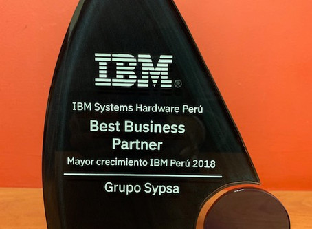 Premiación Best Business Partner 2018 - IBM
