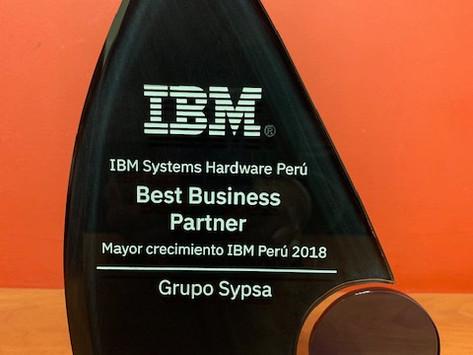 Premiación Best Business Partner 2018 - IBM
