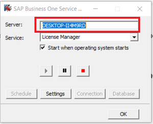 Service Manager en SAP B1