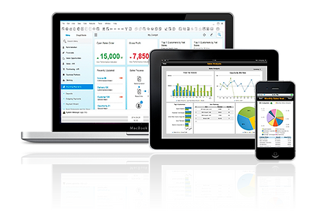 Solución de gestión de negocios  para las pequeñas y medianas empresas - SAP Business One