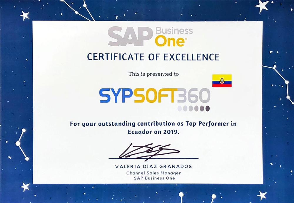 Sypsoft360 Ecuador - SAP Partner Gold