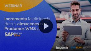 Webinar | Almacenes más eficientes con Produmex WMS para SAP B1
