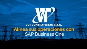VyT Contratistas alínea sus operaciones al avance de la tecnología con SAP Business One