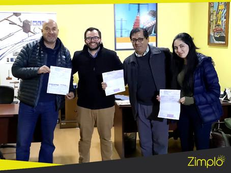 Disantel y Zimplo, un proyecto exitoso ejecutado por un gran equipo