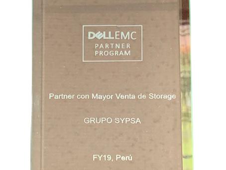 Grupo Sypsa: Partner con mayor venta de Storage 2019 DELLEMC