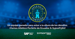 SAP Business One de la mano de Sypsoft360 entra al equipo de Atlético Porteño de Ecuador