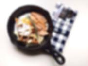 กระทะเหล็กหล่อKönig หม้อเหล็กหล่อ ไข่กระทะ อาหารเช้า