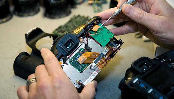 Conserto de câmera digital RJ