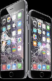 Troca Tela Vidro quebrado Iphone