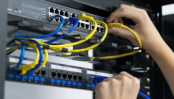Cabeamento instalação rede computador