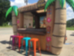 Inflatable Tiki Bar