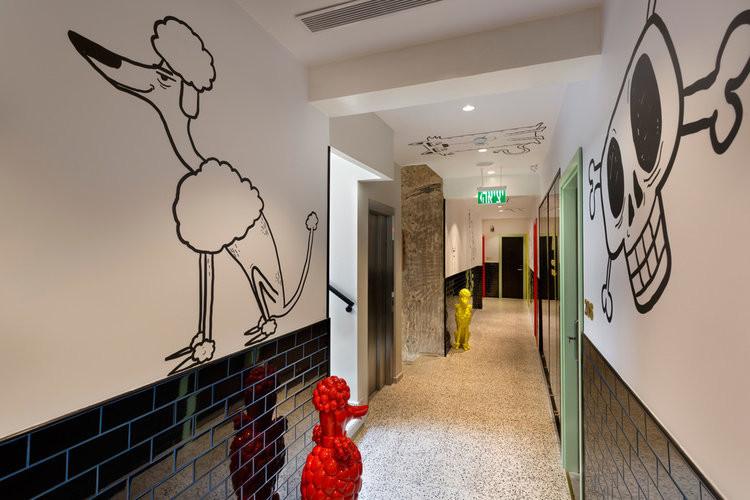 CUCU hallway