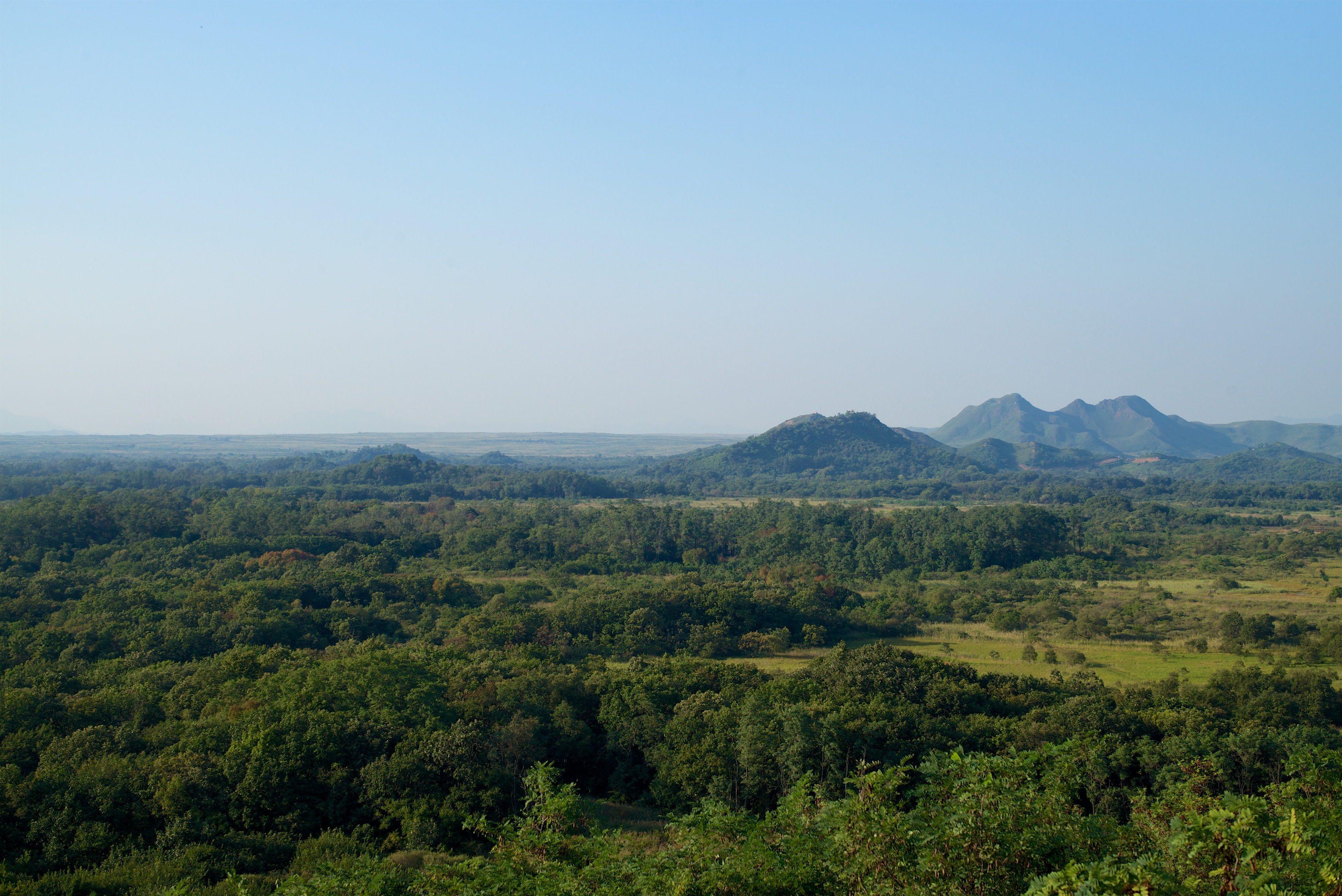 View towards North Korea