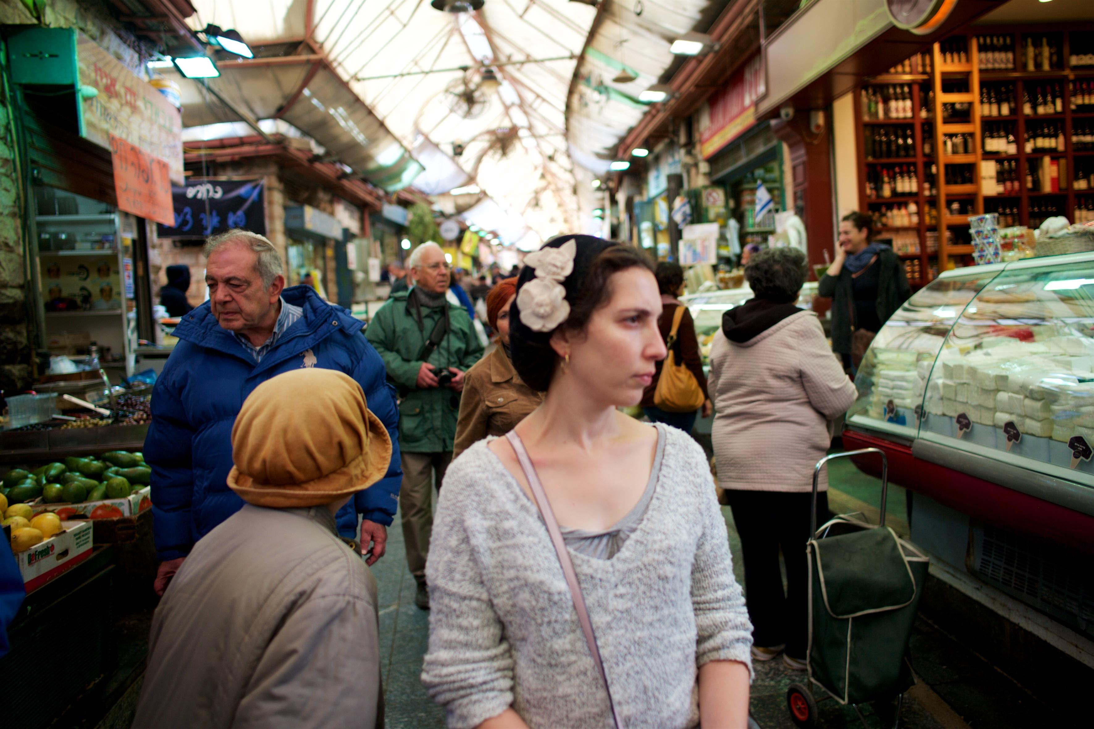 At the market, Jerusalem