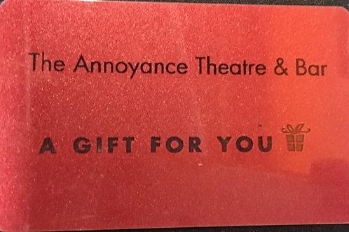 Annoyance Gift Card