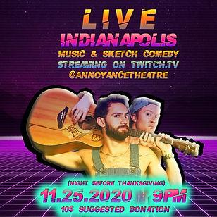 Garden Boys: Live Indianapolis