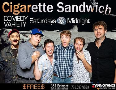 Cigarette Sandwich