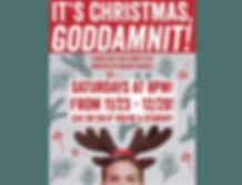 It's Christmas, Goddamnit!